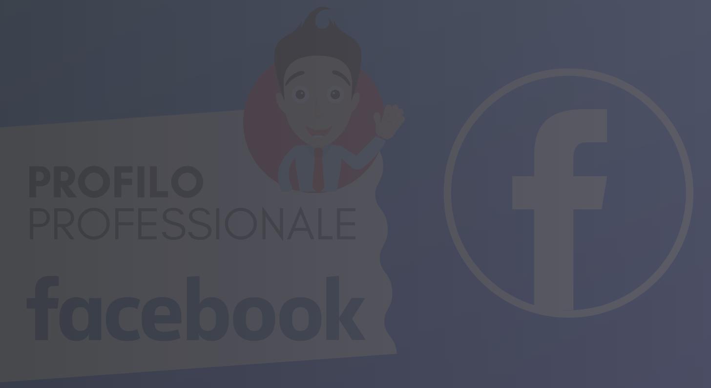 Facebook Profilo Professionale